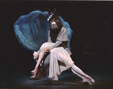 New York City Ballet Midsummer Night S Dream  Donkey